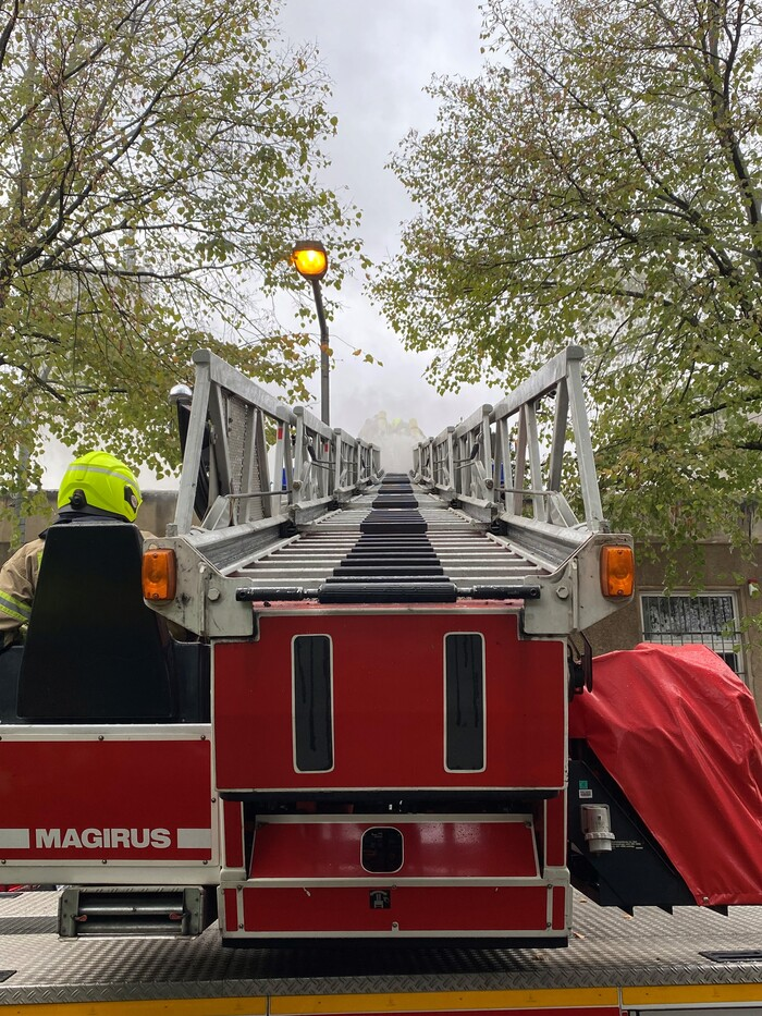 Brand in Weißensee